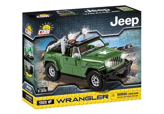 COBI 095305 JEEP WRANGLER MILITARY